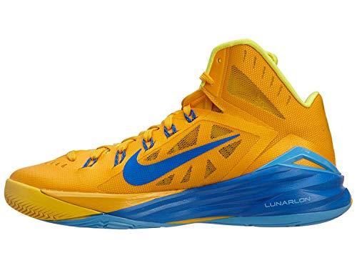 Nike Men's Hyperdunk 2014 Basketball Shoes 653640-747 University Gold/Hyper Cobalt/Yellow (14)