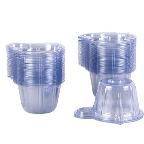 120 Pcs 40ml Urine Cups Plastic Disposable Easy to Collect Urine Specimen Cups for Pregnancy Test/Ovulation Test/pH Test