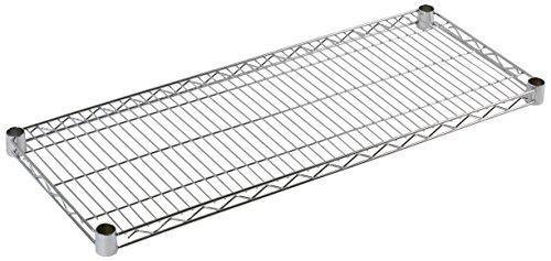 Archimede Sistema Componibile, Ripiano, Grigio (Cromato), 36 x 36 x 4 cm
