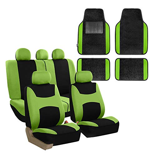 neon green seat covers - 6