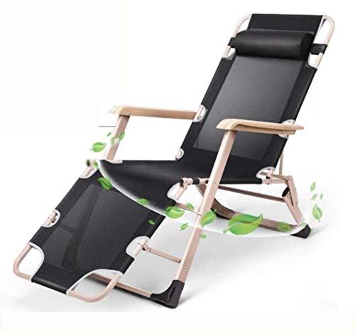 GBLight Sun Lounger Adjustable Chaise Longue Chaise, with headrest Armrest Sunbed Zero Gravity Chair Reclining sunbed Back Bed Garden Chair Garden Patio Camping