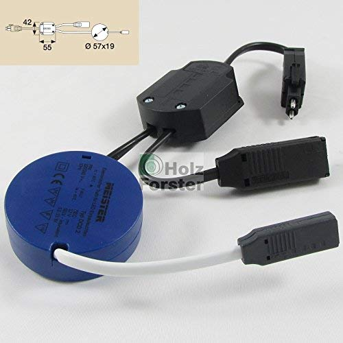 MEISTER Transformator LED-Tronic 0,1-15Watt 12Volt Gleichspannung
