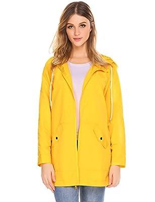 Women's Lightweight Active Outdoor Hoodie Running Sport Windbreaker Coat Jacket