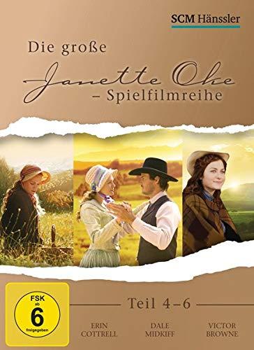 Die große Janette Oke-Spielfilmreihe Teil 4-6 [3 DVDs]