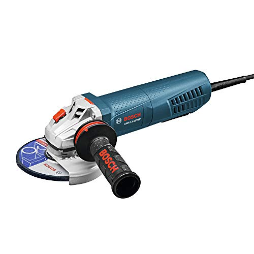 Bosch 5 Inch 13 Amp Angle Grinder with Paddle Switch (Renewed)