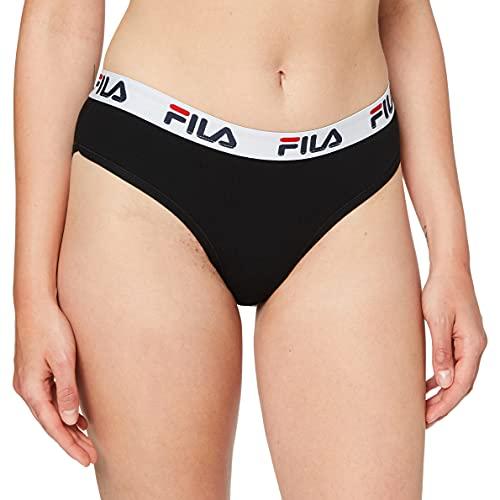Fila FU6043, Underwear Donna, Black, L