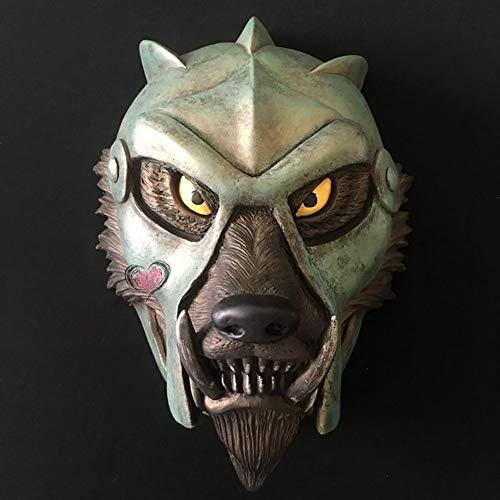 YTO Máscara de Matanza de Hombre Lobo, Accesorios Anti-Trampa para Juegos de Mesa, policías y Ladrones Matan Personas, Cierre los Ojos y bloquee los Ojos Cuando esté Oscuro