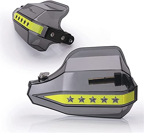 KEENSON Motorrad Hochleistungs-Universal-Windschild Bremshebel Handschutz für Motorrad Windschild Refit Zubehör Motorradbremshebel (Color : B)