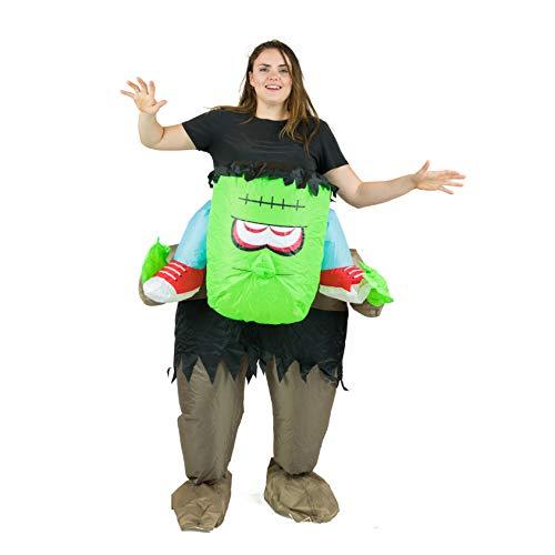 Bodysocks Fancy Dress- Disfraz, Multicolor, Frankenstein (5060298046253)