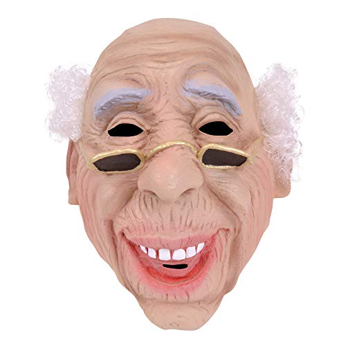 Bristol Novelty BM235 Old Man Hair Mask, One Size