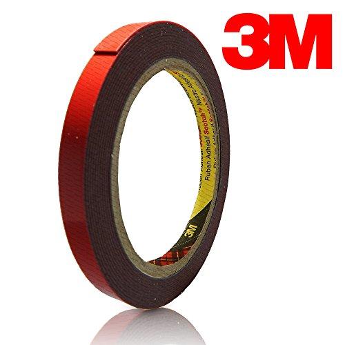 3M CSR zb143Cinta Adhesiva de Doble Cara, 10mm