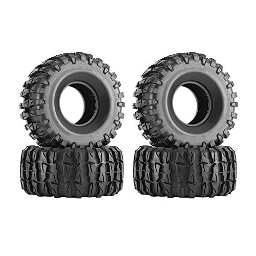 SeniorMar-UK 4 Stück 2,2 Zoll Reifen Großartige Felge Leicht Langlebig Ausgezeichnete Verarbeitung Großartiger Stil135/62 Axtförmiger Kies
