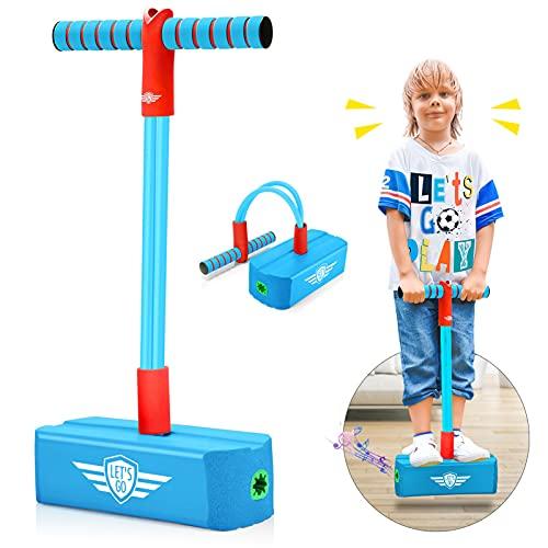 Toyzey Spielzeug ab 3 4 5 6 7 8 9 10 11 12 Jahre,Pogo Stick Hüpfstab für Kinder Draußen Spielzeug 3-8 Jahre Junge Stelzen Kinder Geschenke für Jungs 8-12 Junge Geschenke 3-12 Jahre Mädchen
