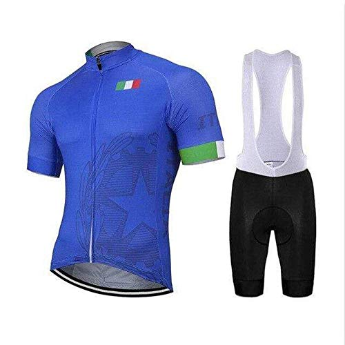 Sly Sun - Country Jerseys - Love Your Country! Cycling Jerseys & Sets Collection - Team Italy Men's Cycling Jersey & Shorts Set - Jersey & Short Set - L