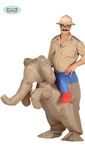 Guirca 88210 - Elefante Hinchable Adulto Talla L 52-54