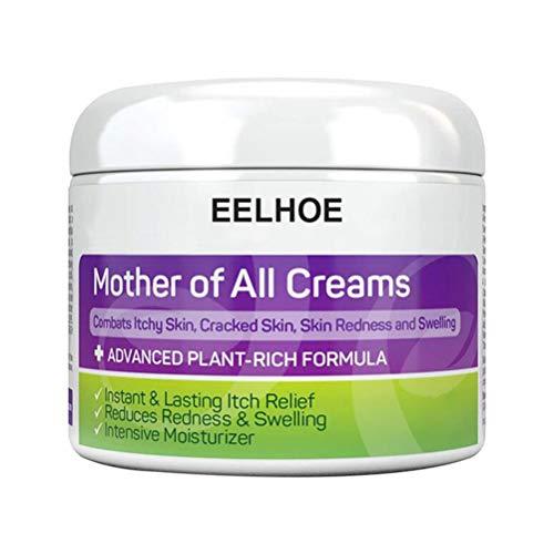 Mumaya 50g Ekzemcreme, beruhigt trockene Cremes, Anti-Trockenmittel gegen juckende Gesundheit Hautpflege-Ekzem-Salbe für alle Hauttypen