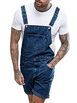 Best mens overall jean shorts Reviews
