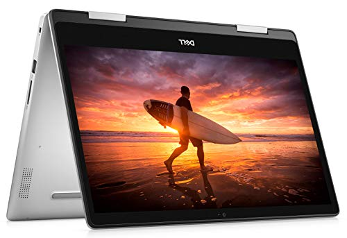 Dell Inspiron 14 5000 2-in-1 14 Inch FHD Touchscreen Convertible Laptop (Silver) Intel Core i5-8265U, 8 GB RAM, 256 GB SSD, Windows 10 Home