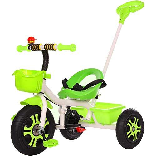 YumEIGE driewieler kinderen driewieler titanium leeg wiel 1-6 jaar oud verjaardag kinderen geschenk kleine kinderen kinderwagen trike last gewicht 100 kg