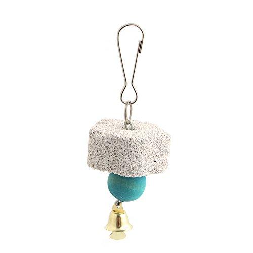 XMTPF Papageienmund-Schleifstein, zum Aufhängen, Kauspielzeug für Vögel