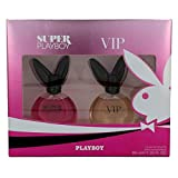 PLAYBOY VIP for Women + SUPER PLAYBOY for Woman EdT Geschenk-Set 2x40ml