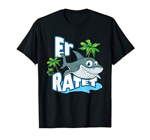 Er Hai Ratet - Männer   Hochzeit Junggesellenabschied T-Shirt