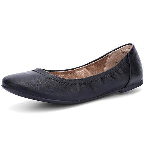 Top 10 best selling list for faux leather flat shoes