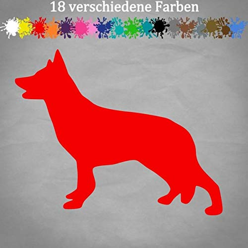 Adhesivo de husky, 15 x 12 cm, silueta de perro, contorno siberiano,...