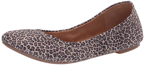 Lucky Brand Women's Emmie Brindle Persian Leopard Flat 9 M