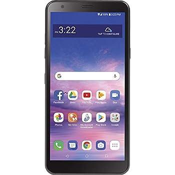 TracFone LG Journey 4G LTE Prepaid Smartphone  Locked  - Black - 32GB - SIM Card Included - CDMA - Fustration Free Packaging