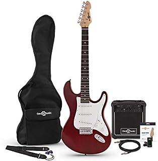 Set de Guitarra Electrica LA + Amplificador Red