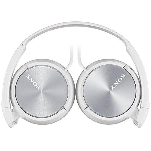 Sony CFD-S70 Boombox (CD, Kasette, Radio) weiß & MDR-ZX310W Lifestyle Kopfhörer, Weiß