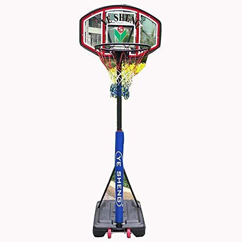 LQH Basketballkorb Höhenverstellbare 130-180Cm Kinder Basketball-Standplatz Haushalt Mobil Basketball Kinder Erwachsener Sporttraining Spielzeug-Rack