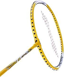 LI-NING XP Series Badminton Racket 2018 Professional Beginner Practice Racquet Pack of 2 (Yellow/White-XP 710)