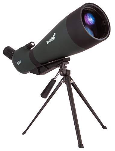 Best Prices! Levenhuk Blaze Base 100 Portable Spotting Scope with BK7 Glass Optics, Metal Table Trip...