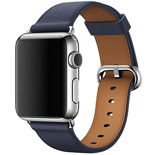 Correa de reloj para Apple Watch Correa Serie 6 SE 5 4 3 2 1 Para Iwatch 38 mm 42 mm Muñeca Para Apple Watch Bandas 44 mm 38 mm 42 mm 40 mm-Medianoche, 44 mm Para la serie 45