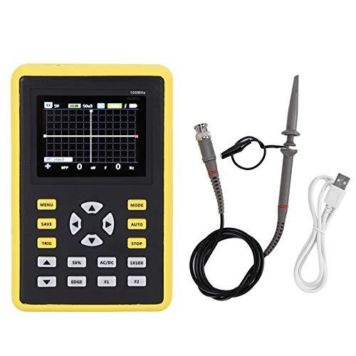 Digital 500MS/s IPS FNIRSI‑ 5012H Pantalla LCD de 2,4 pulgadas Dispositivo de osciloscopio de mano para la producción de la industria