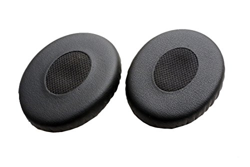 Replacement Earpads Repair Parts Compatible with Bose Soundtrue Soundlink On Ear 2, OE2, OE2i Headphones (Earmuffs Black 1 Pair)