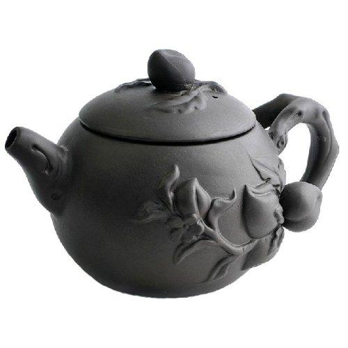 Peach Purple Clay Tea Pot Tea Set Chinese Kungfu Teapot