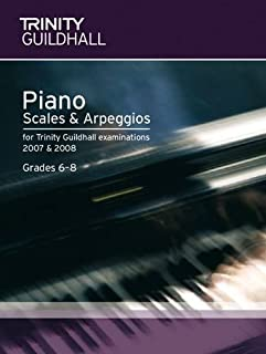 trinity grade 8 piano scales