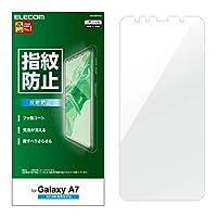 エレコム Galaxy A7 フィルム [指紋がつきにくい] 指紋防止 反射防止 PM-GA7FLF