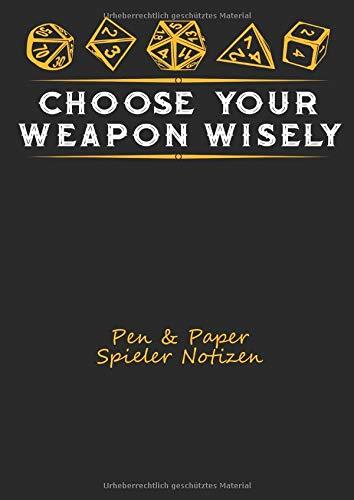 Pen & Paper Spieler Notizbuch: Tagebuch für Spieler von Pen & Paper Spielrunden
