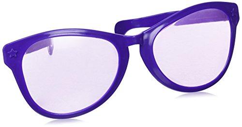Forum Novelties Glasses, Purple, Jumbo