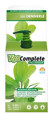 Dennerle 4459 V30 Complete Volldünger für Aquarienpflanzen, 250 ml