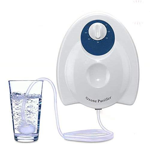 NOBGP Purificateur d'eau désinfecteur O3 générateur Ozone purificateur Multifonction Eau air stérilisation assainissant Ozone Machine minuterie Fonction pour la Maison Alimentaire Fruits végétaux