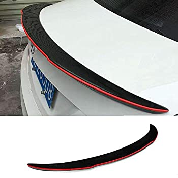 Mosion Auto FD Style Red Line Carbon Fiber Rear Spoiler for Mercedes-Benz CLA45 AMG W117 C117 CLA 250 180 260