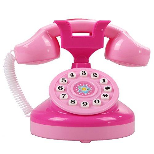 ghn Educación temprana Máquina Niños Teléfono Juguetes Encantador Aprendizaje Temprano Niños Niñas Simulación Teléfono Divertido Aprendizaje Máquina Regalos de Cumpleaños Interacción Padre-hijo Regalo