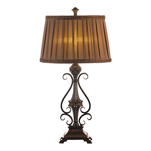 Lámparas de Mesa y mesilla de Noche Lámpara de Escritorio marrón de...