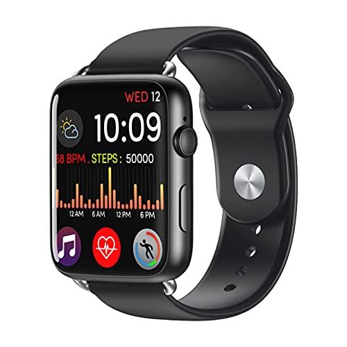 XYZK DM20 3GB 32GB GPS WiFi 4G Smart Watch 1.88 Pulgadas Pantalla Táctil Tasa De Corazón Android 7.1 Reloj Inteligente con Correa De Cuero,C