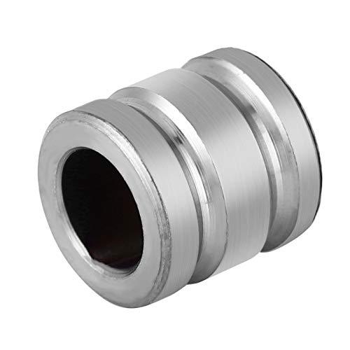 Shipenophy Cuentas Colgantes EDC al Aire Libre Cordón de Titanio TC4 Cuenta de aleación de Titanio para Pulsera para Collar(Titanium Color)
